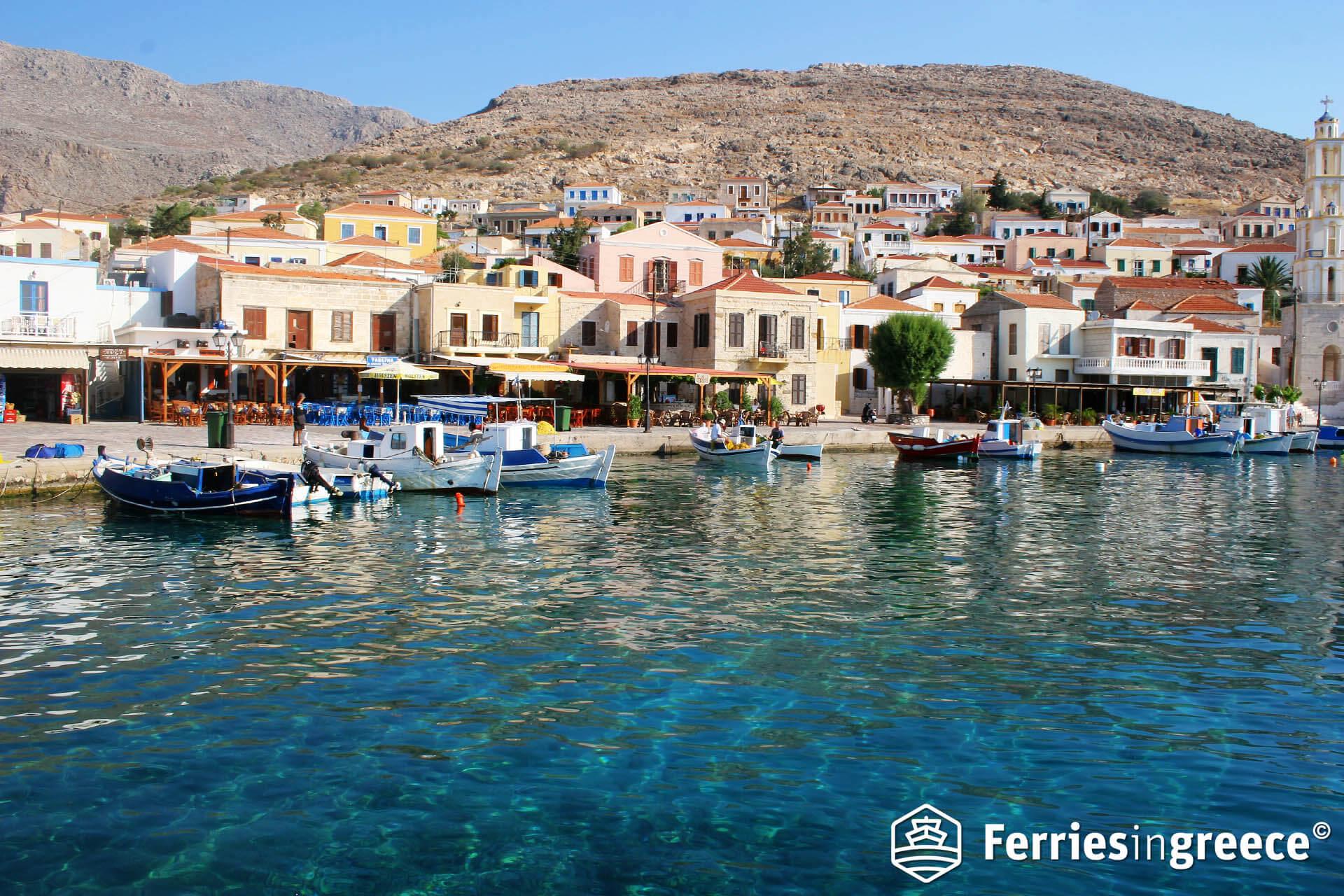 Ferry to Chalki - Ferriesingreece.com