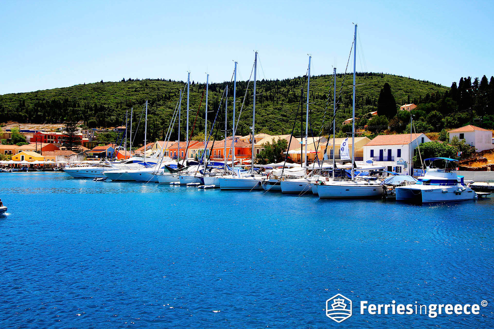how to get to kefalonia by ferry