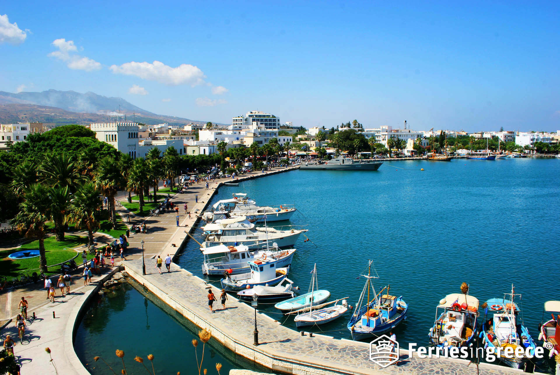 Athens to Kos cheap ferry tickets - Save up to 30%