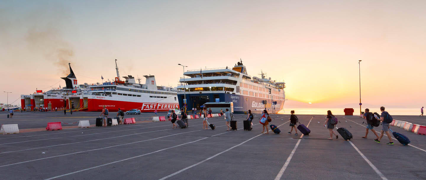 Ferry to Rafina