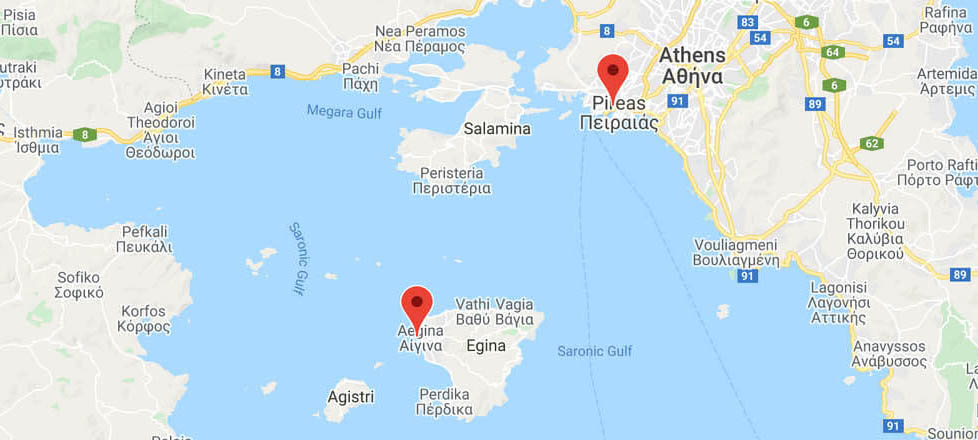 Athens to Aegina: Ferry Routes