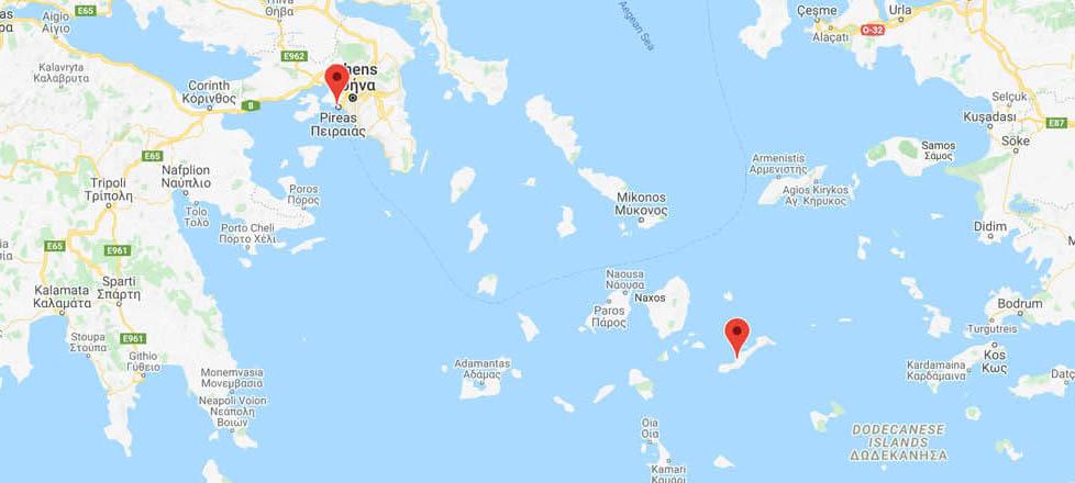 Athens to Amorgos: Ferry Routes
