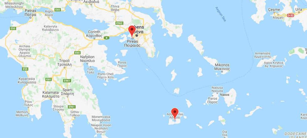 Athens to Milos: Ferry Routes