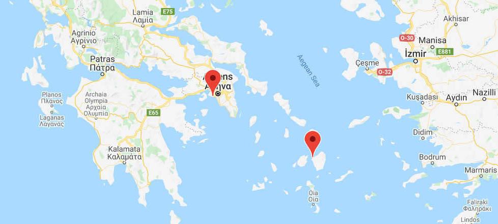 Athens to Naxos: Ferry Routes
