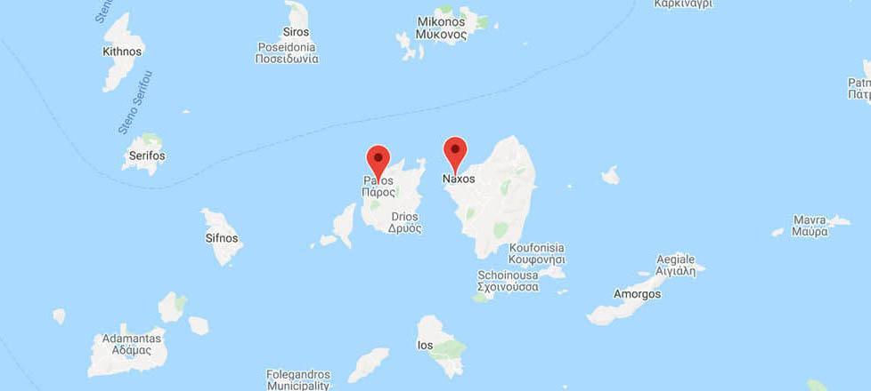 Paros to Naxos: Ferry Routes
