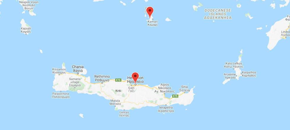 Santorini to Crete (Heraklio): Ferry Routes
