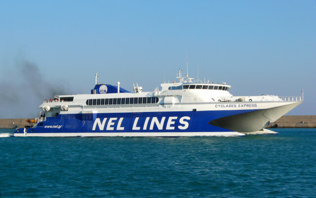 Return ticket discount from Nel Lines in Sporades