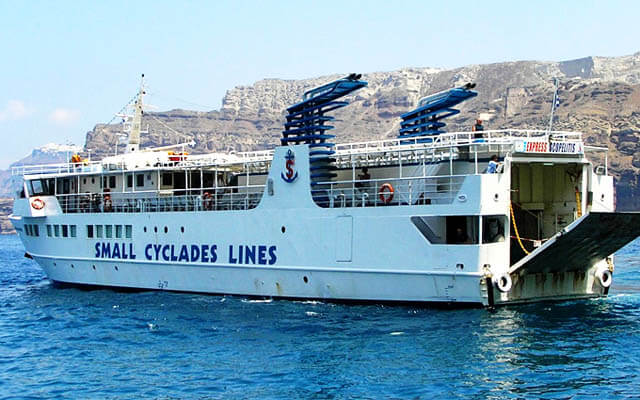 Ferry Express Skopelitis awarded for its offer to Small Cyclades islands