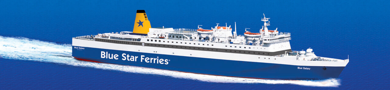 Blue Star Ferries Blue Galaxy
