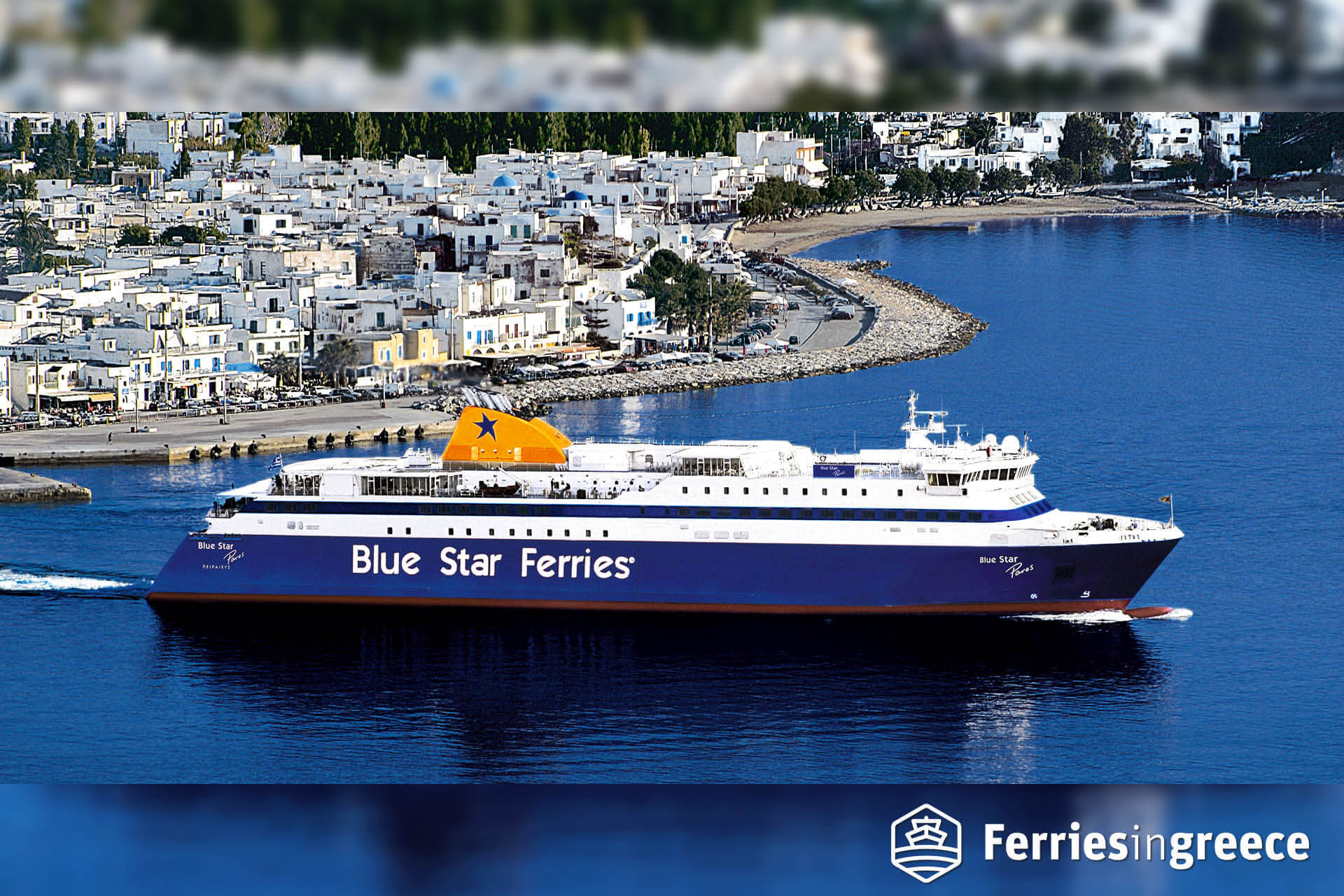 Blue Star Paros ferry boat, tickets, reviews, photos and routes