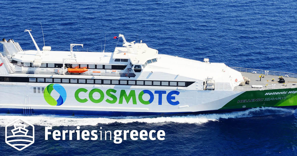 Hellenic Highspeed ferry boat, tickets, reviews, photos and routes